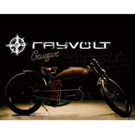 复古艺术电动自行车