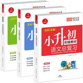 【开心图书】小学名校冲刺小升初总复习语数英人教版