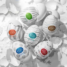 【日本进口典雅TENGA】「安全硅胶、方便携带,不同刺激」EGG一次性自慰蛋、飞机杯