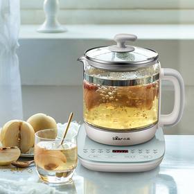 小熊养生壶家用多功能加厚玻璃煮茶壶办公室花茶壶煮茶烧水壶YSH-C15F1
