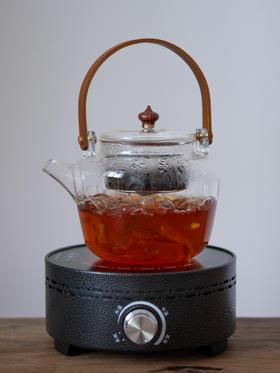 玻璃茶壶单壶泡茶煮茶壶电陶炉煮茶炉过滤耐高温茶炉蒸茶壶煮茶器