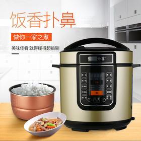 珍葆 多功能智能家用电压力锅电饭煲6L BM-SS60