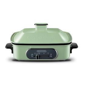 英国摩飞多功能料理锅抖音魔飞MR9088网红电烤锅烧烤炉家用烹饪锅