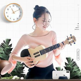 【七夕表白礼物】智能尤克里里小吉他特惠套餐 线上APP无限课时学习尤克里里小吉他(送琴包及配件)