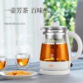玻璃蒸茶器自动蒸汽多功能养生壶电加热小型煮茶壶家用普洱壶日式