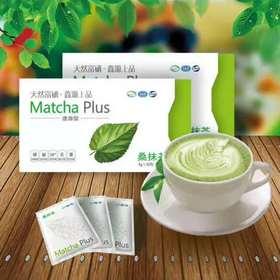 鑫源茶语 富硒桑抹茶 速溶茶 Matcha plus 美容养颜 排毒瘦身 3g*30包 盒装