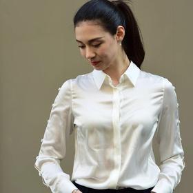 Kwan Shirt 装饰扣衬衫