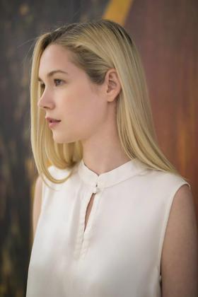Liz Shirt 旗袍领无袖上衣