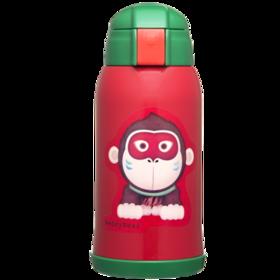 韩国杯具熊儿童保温杯带吸管316大容量婴幼儿园女小学生防摔水壶