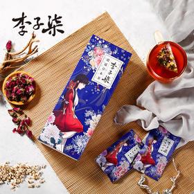 李子柒 逍遥草本茶 赤小豆薏米 养花茶组合生茶 9g*10包