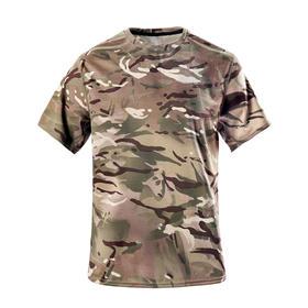 【军版物资】英军公发MTP迷彩COOLMAX速干T恤