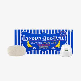 【蛋清皂】瑞典 维多利亚 毛孔清洁保湿洁面蛋清皂 50g*6块  赠洁面皂15g