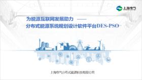 为综合能源服务助力——分布式能源系统规划设计软件DES-PSO