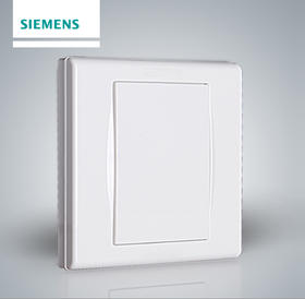 西门子开关插座面板 品宜雅白墙壁86型空白开关白面板