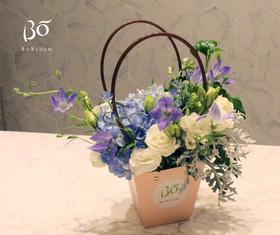 蓝灵花神-母亲节特别款花束
