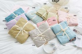 日系无印良品风 百分百纯棉  床笠款