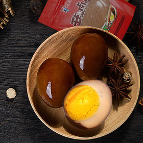 美客多 卤蛋 五香卤蛋 无壳鸡蛋 40g*50颗装 五香卤味鸡蛋 包邮