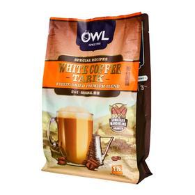 猫头鹰白咖啡三合一