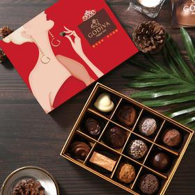 GODIVA歌帝梵双享经典巧克力12颗装比利时进口正品保证