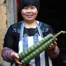 【长长长长!超长龙粽 带你过不一样的端午节】大过中国节 传统也时尚-近半米长的遂昌龙粽 全家吃撑只要一根 粽子礼盒1000g*1