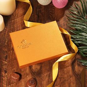 GODIVA歌帝梵金装巧克力礼盒(15颗装)正品保证比利时进口
