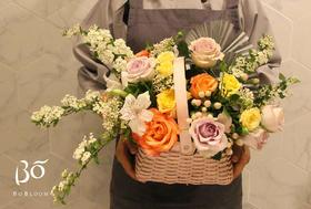 玫漾花神-母亲节特别款花束