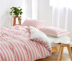 日系无印良品风  针织棉  天竺棉 100%纯棉   单独被套