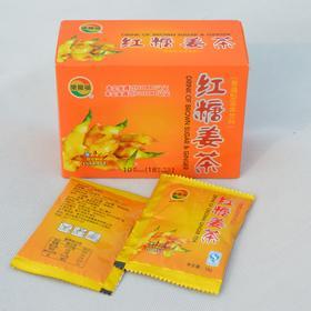 乐尔福 红糖姜茶 速溶姜茶 男女老少 四季皆宜 健康饮品 18g*10袋
