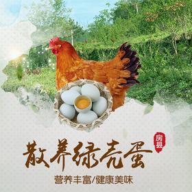 【生鲜新品】房县绿壳土鸡蛋(60枚/盒)