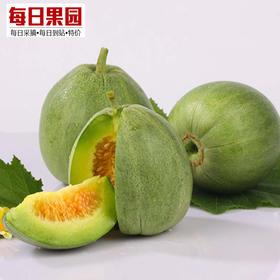 优级绿宝甜瓜  5.7元/斤 精选1.8斤装 新鲜水果 农家无污染绿宝石香瓜 脆瓜-864833