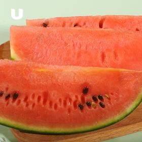 山东 • 沁甜小西瓜  清新沁甜  汁水充沛 皮薄肉厚 清热解暑 沙瓤口感 糖度13°+  1个装