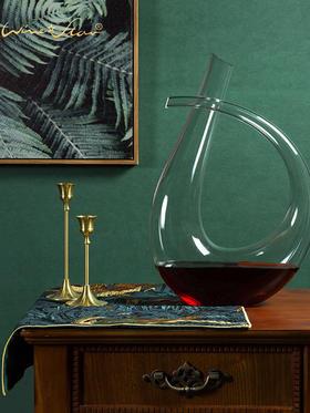 奥地利进口winestar施华洛醒酒器无铅水晶葡萄酒红酒酒壶手工吹制