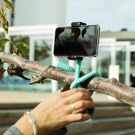 【爆款产品:国庆旅游神器!】zbam自拍杆支架便携式蓝牙遥控八爪鱼摄影多功能拍照户外百变