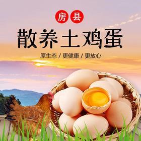 【山林散养 】房县土鸡蛋  ||新鲜柴鸡蛋||   60枚散装