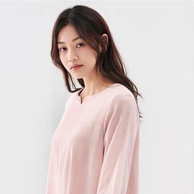 大朴格纹家居裙丨双层纯棉纱,软绵、透气不闷汗,好舒服!