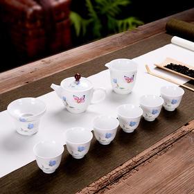 功夫茶具 陶瓷茶具 主人杯 公道杯 品茗杯 西施壶 礼品套装