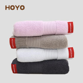 HOYO抗菌毛巾家庭装 4条/盒