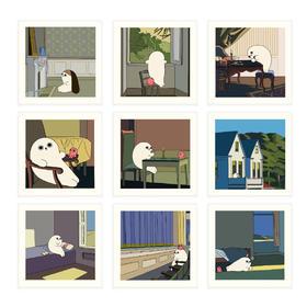 王XX 珍藏版版画 海豹艺术 | 精装版