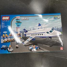 古迪8912国际机场拼装
