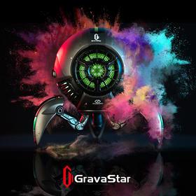 Gravastar重力星球蓝牙音响【酷帅低音炮】