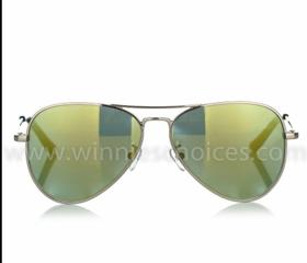 W03太阳眼镜 限量版飞行员覆膜 少年款2色可选