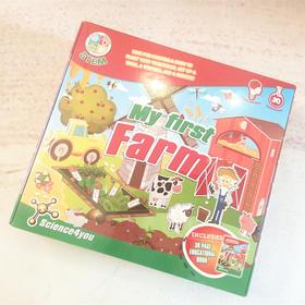 葡萄牙原装进口STEM玩具  我的第一个小农场