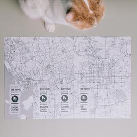 【预售,5月27日起陆续发货】城市的10000种可能 限定城市地图挂画