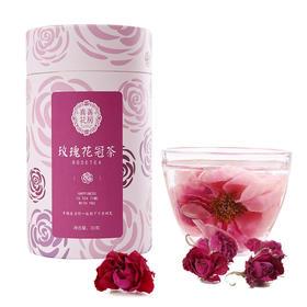 【新品】喜善花房 玫瑰花冠茶 30g/罐