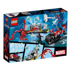 乐高(LEGO)积木 蜘蛛侠摩托车救援任务