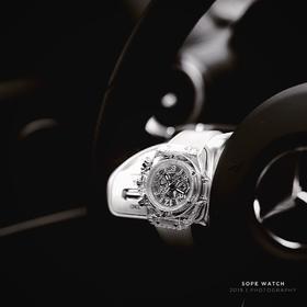 【极简透明设计】SOPE手表男女情侣手表男女石英表简约时尚气质女士手表