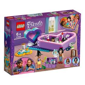 乐高(LEGO)积木 好朋友的爱心藏宝盒