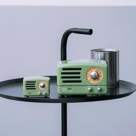 猫王收音机乌托邦OTR复古蓝牙音箱喇叭升级丨音质更佳丨超长续航丨精美旅行箱包装