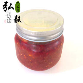 【弘毅六不用生态农场】番茄辣酱 无添加剂 下菜拌饭 2瓶/份 包邮