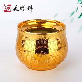 陶瓷金水缸随葬品